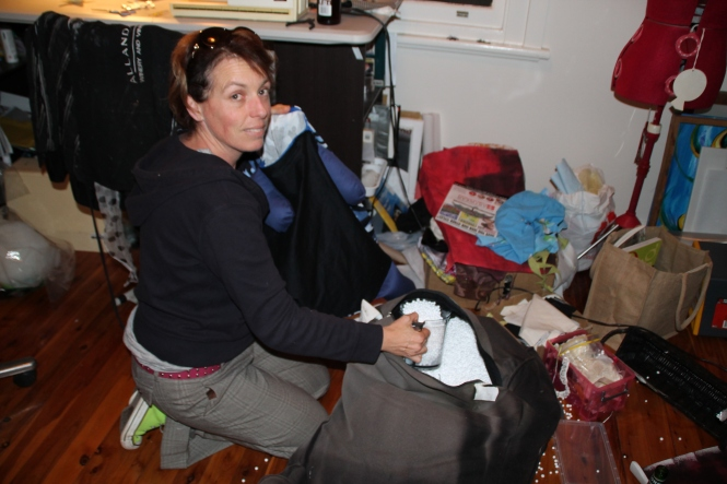 Me stuffing as opposed to stuffing up a medium sized GalapoGuy