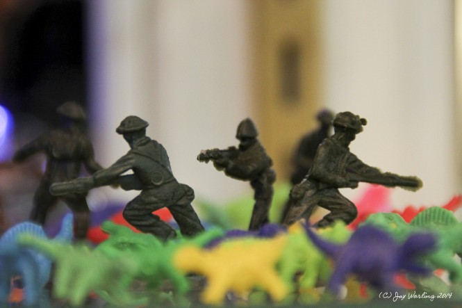 Of Army Figurines and Plastic Dinosaurs