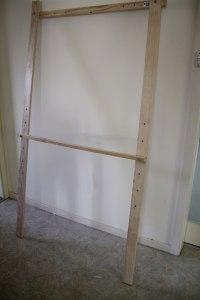 Assembled easel