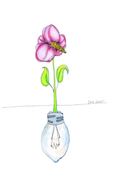 Flower Bulb small