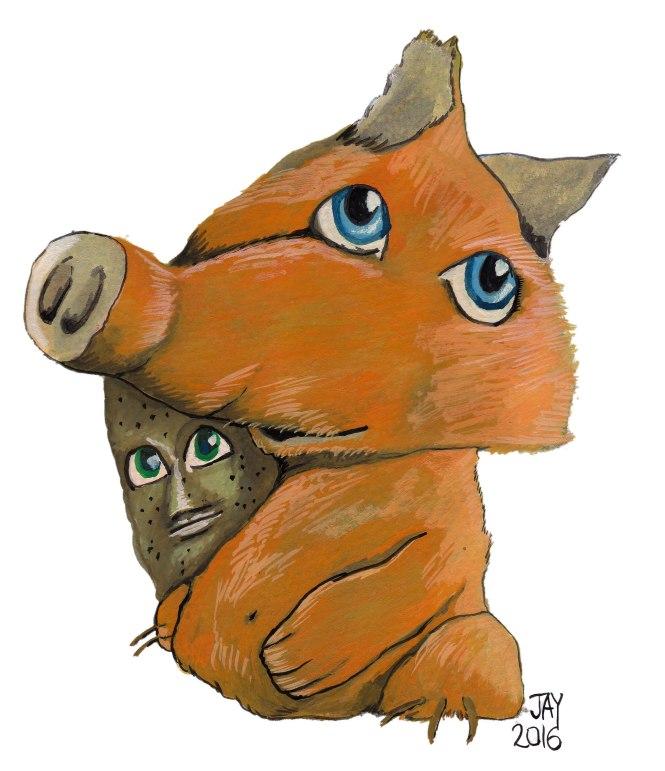 Mr Foxephant